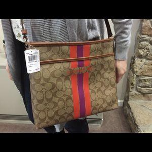 Uniquely designed NWT COACH cross Body Bag